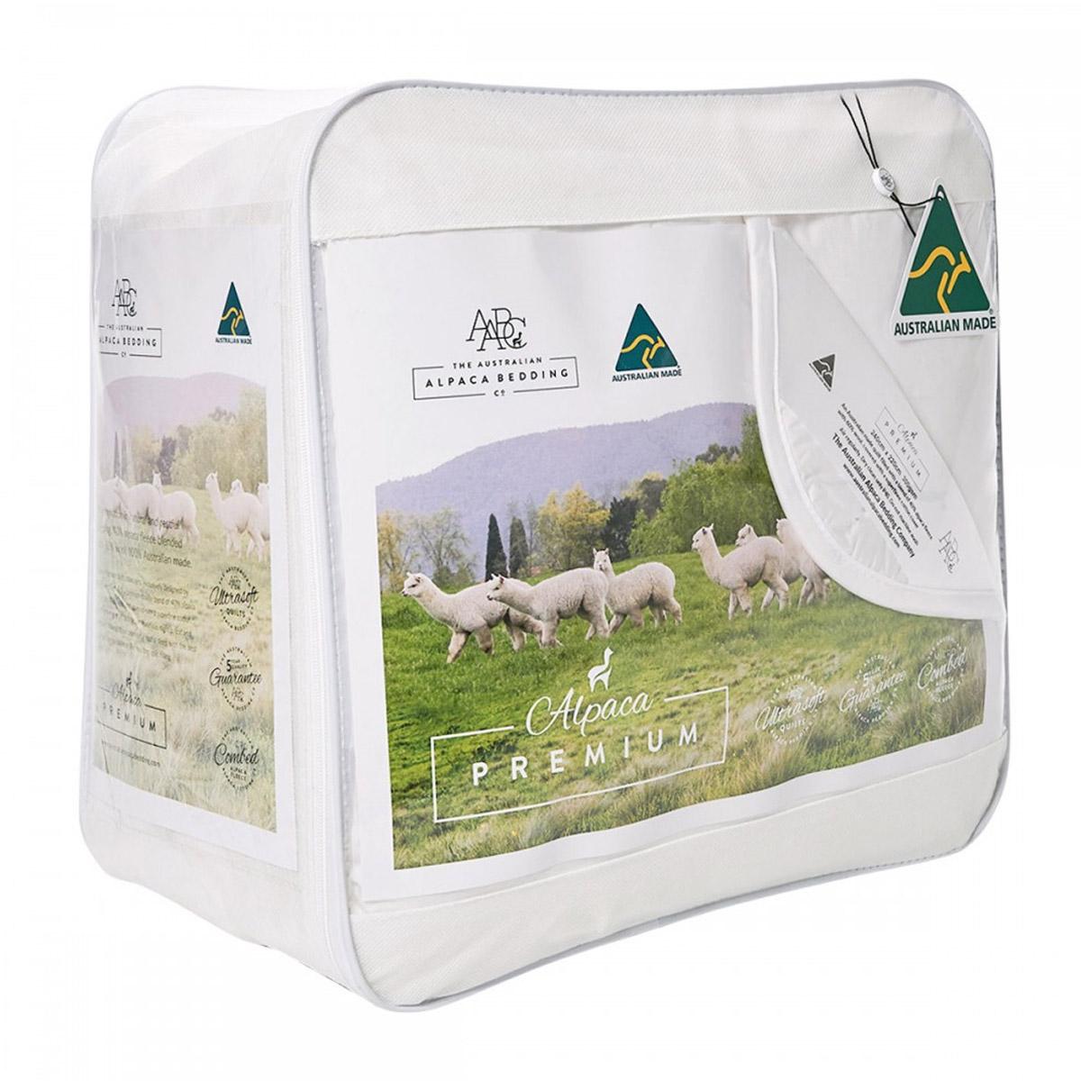 Australian Alpaca Bedding Company Premium Blend Alpaca Quilt
