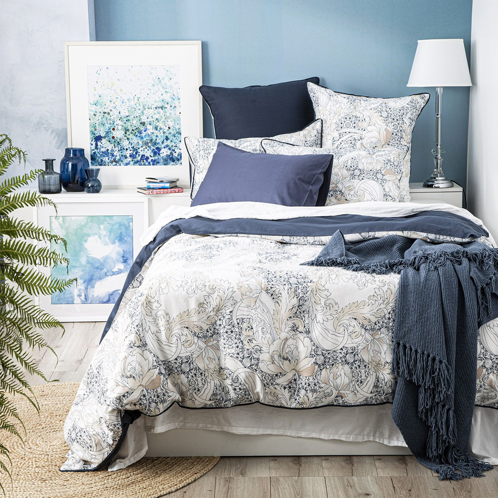 Renee Taylor Abbotson 300 Thread Count Cotton Quilt Cover Set