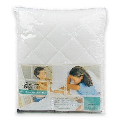 Abercrombie & Ferguson Quilted Mattress Protector with straps