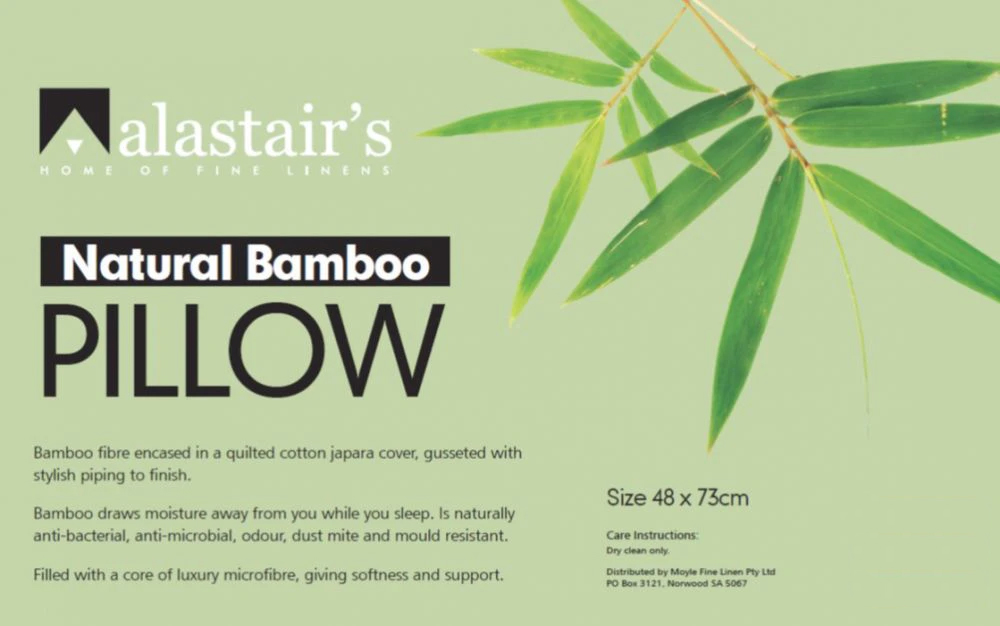 Alastair's Bamboo Fibre Pillow