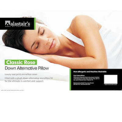 Alastairs Classic Rose Down Like Pillow