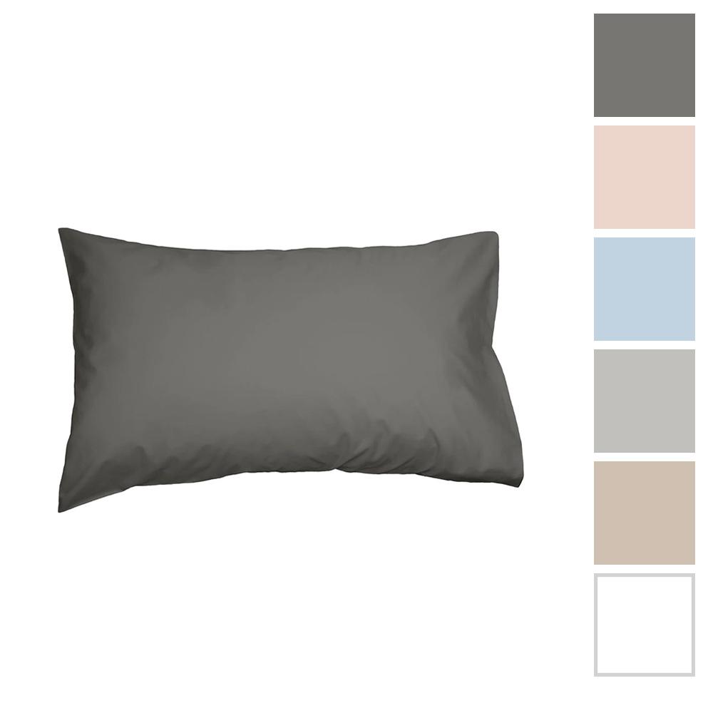Algodon 300 Thread Count Cotton Percale Standard Pillowcase