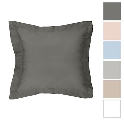 Algodon 300t Sheet Set European Pillowcase Grey