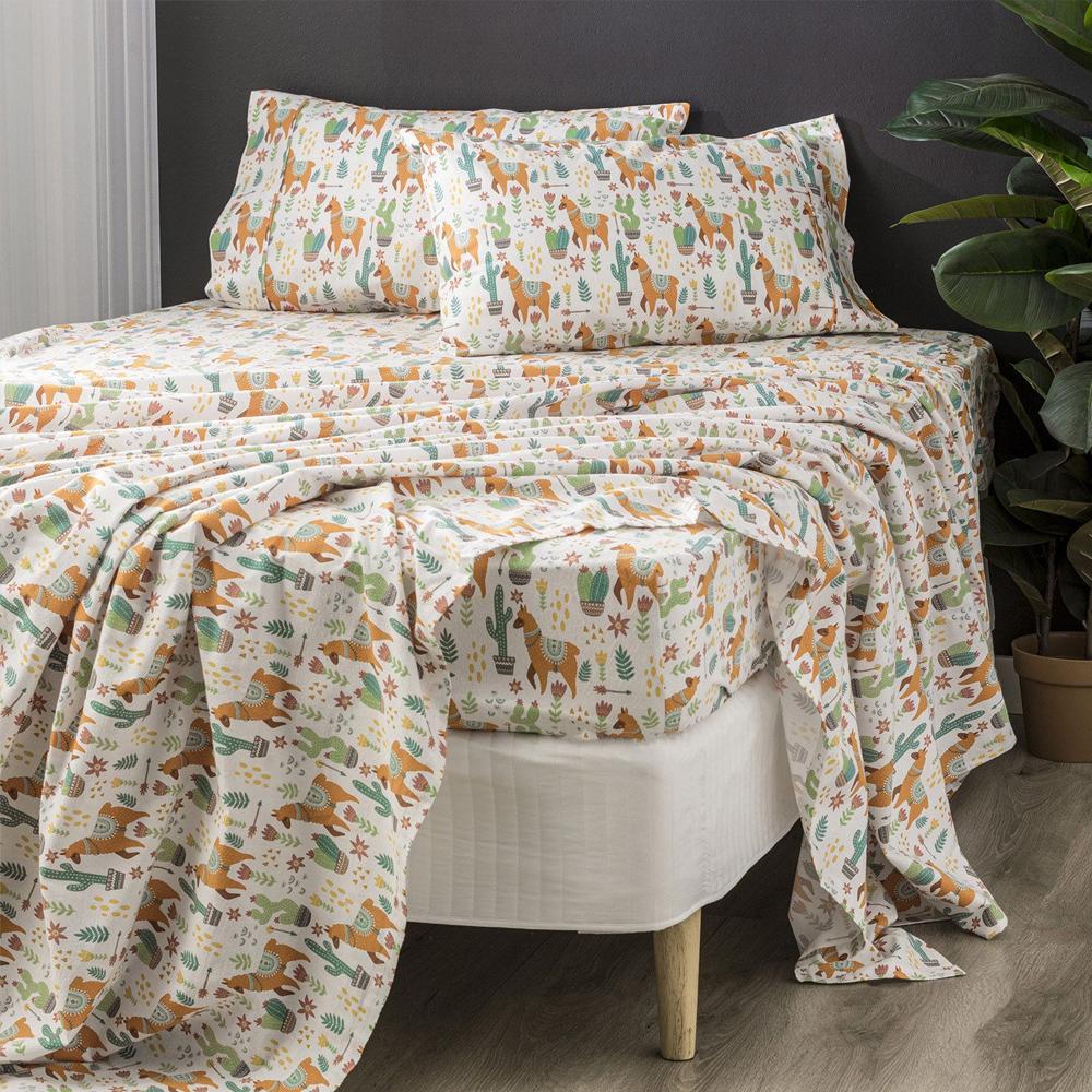 Park Avenue Alpaca Egyptian Cotton Flannelette Sheet Set