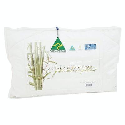 Kelly and Windsor Alpaca Bamboo Pillow
