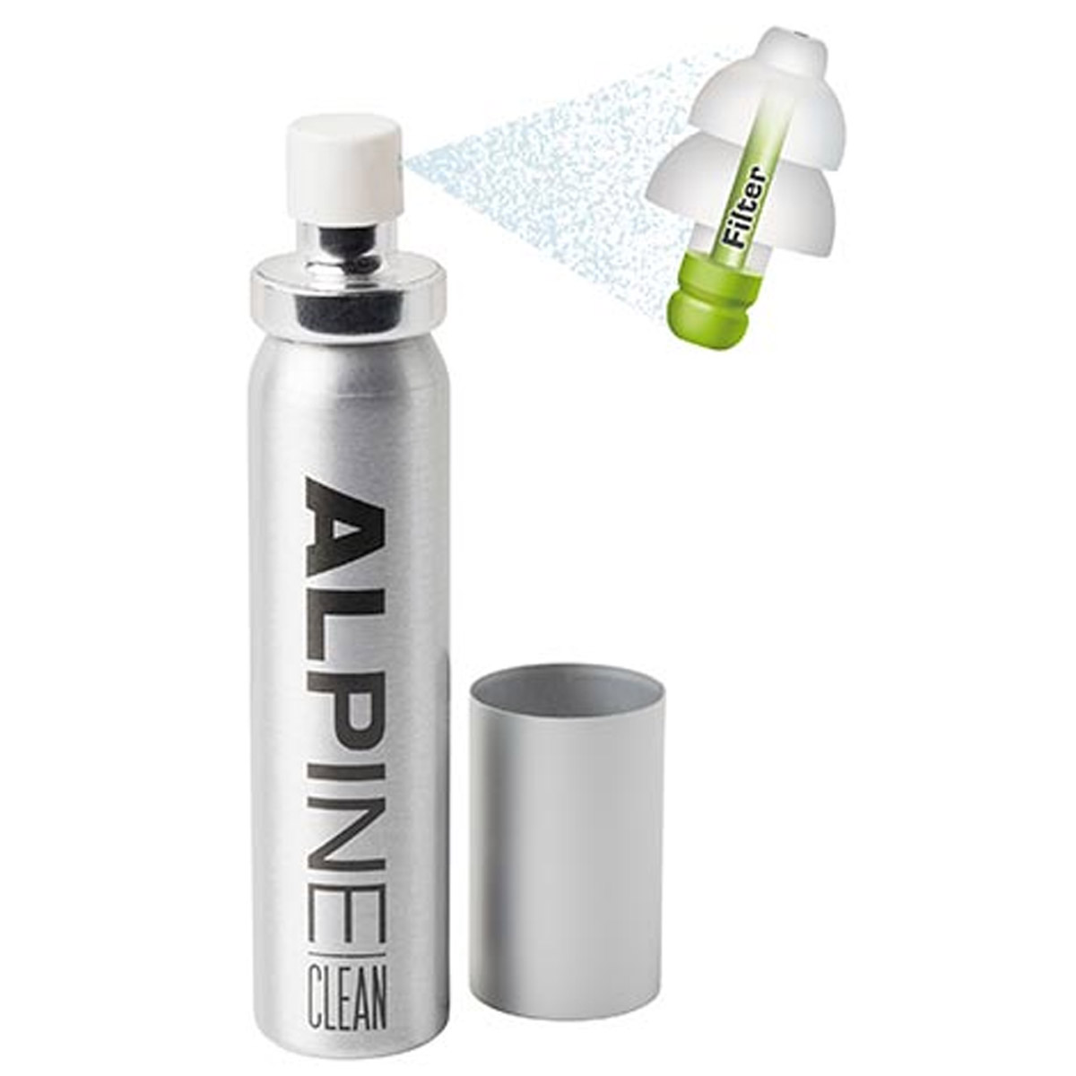 Alpine Clean Reusable Ear Plug Cleaning Spray