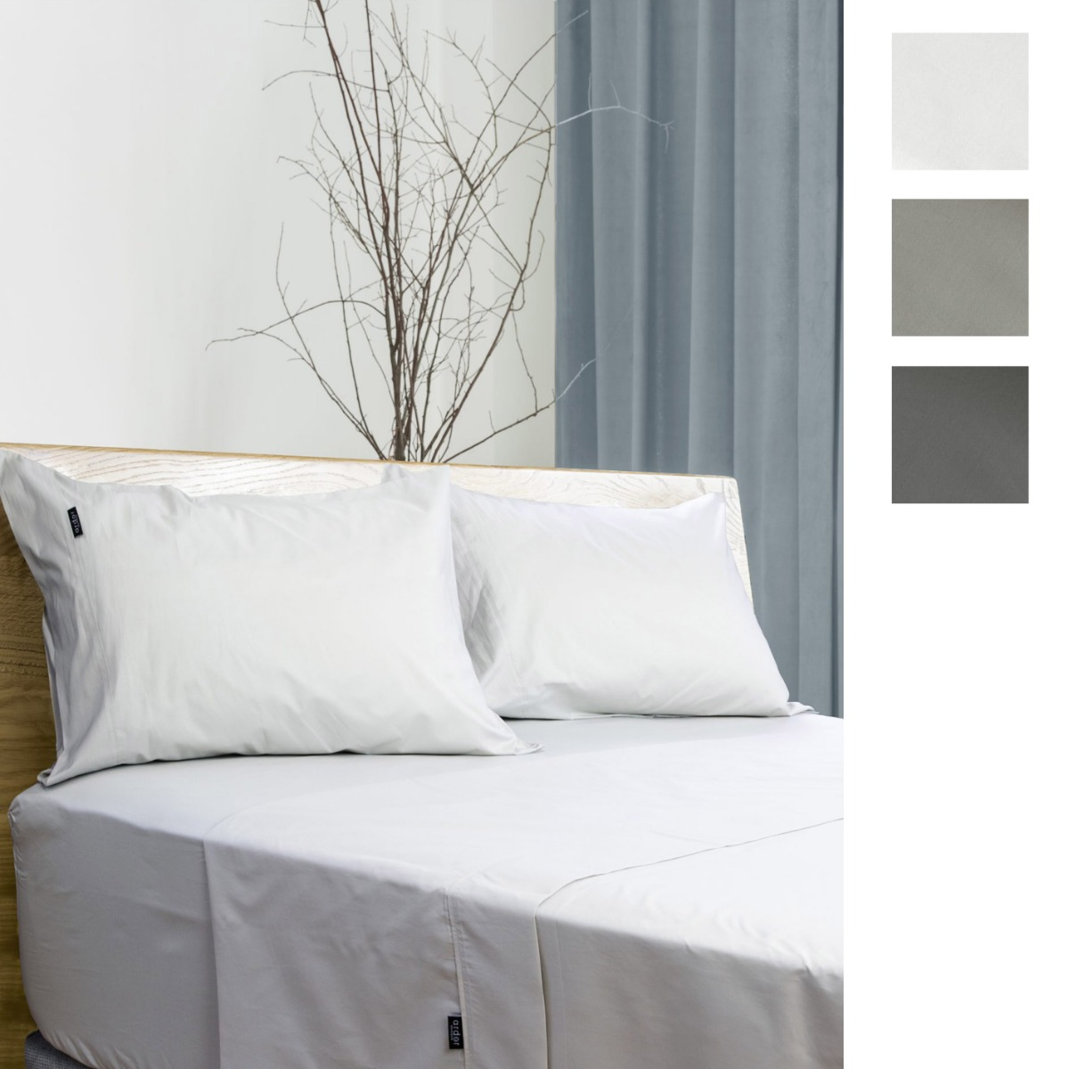 Ardor Home 700 Thread Count Antibacterial Cotton Rich Sheet Set