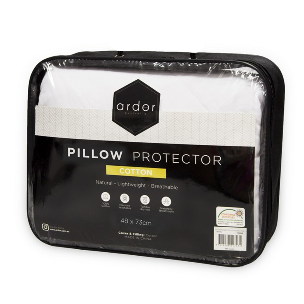 Ardor Home 100% Cotton Pillow Protector