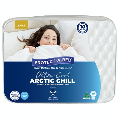 Protect-A-Bed Ultra Cool Artic Chill Fitted Mattress Protector