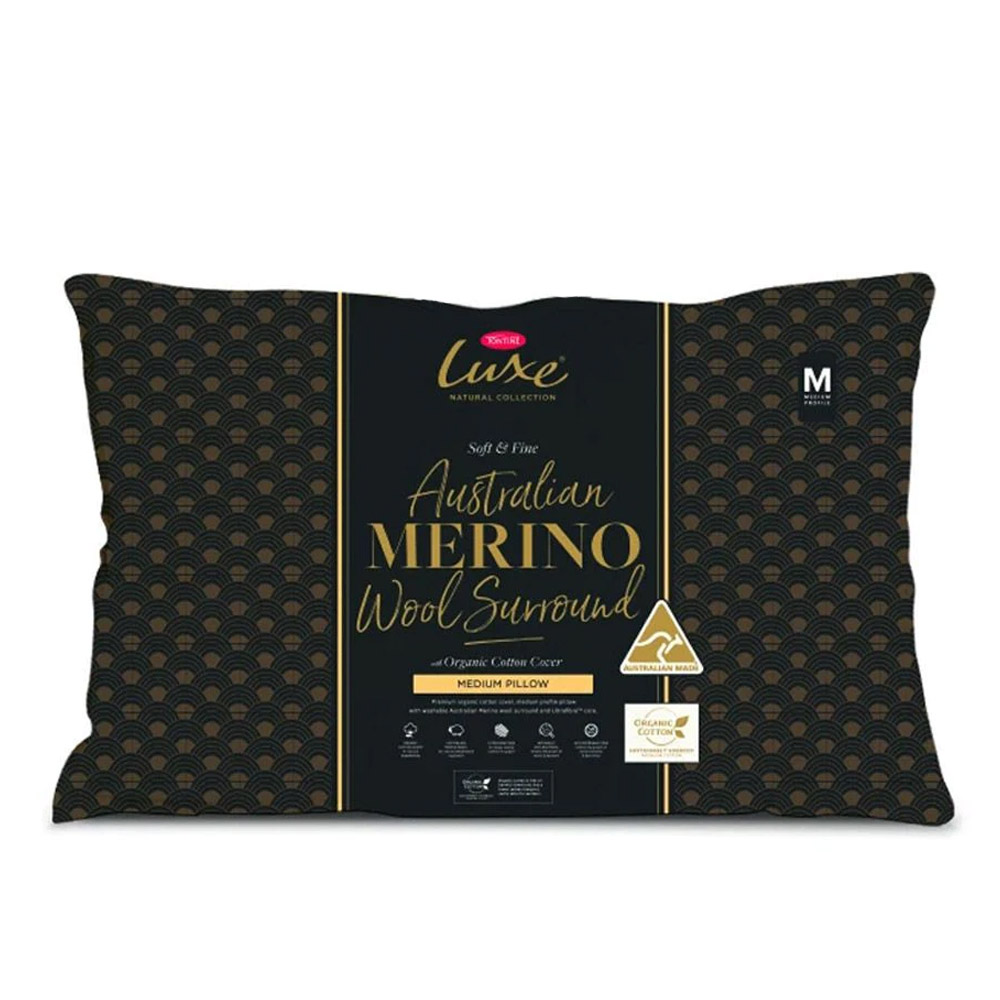 Tontine Luxe Australian Merino Surround Wool Pillow