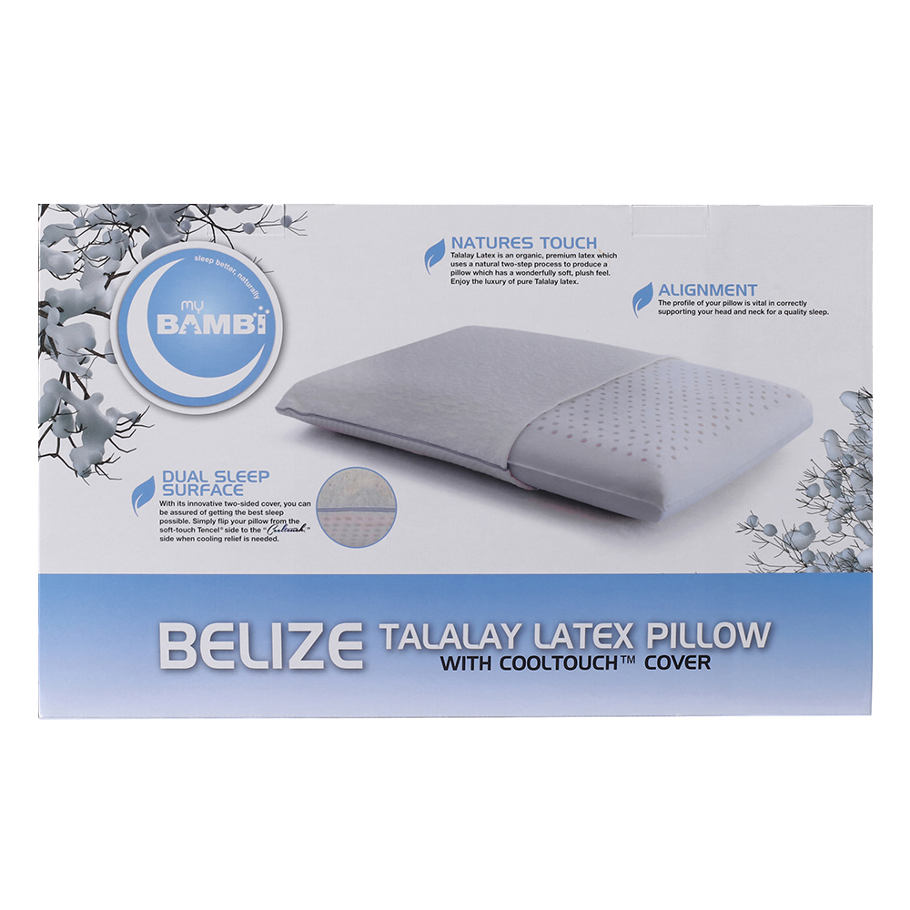 Bambi Belize Cooltouch Talalay Latex Pillow