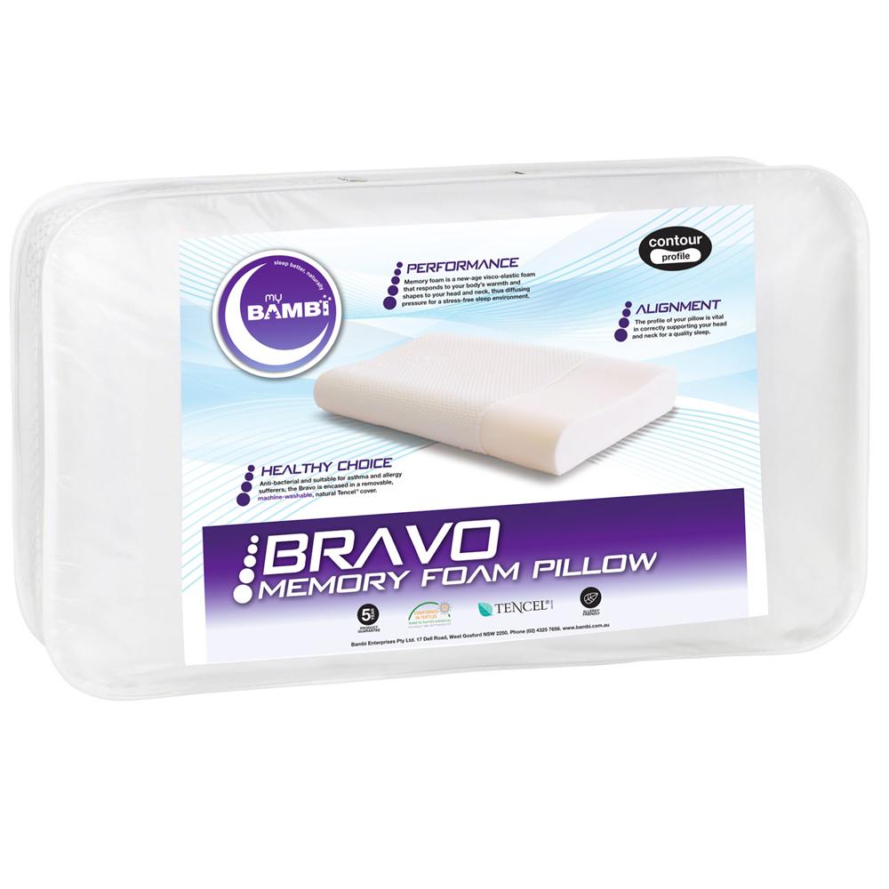 Bambi Bravo Contoured Memory Foam Pillow