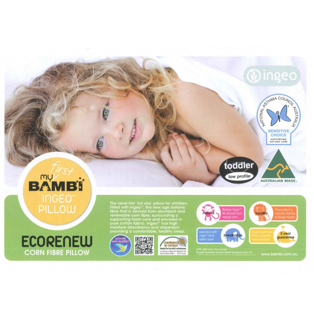 Bambi Ingeo Plant Fibre Toddler Pillow