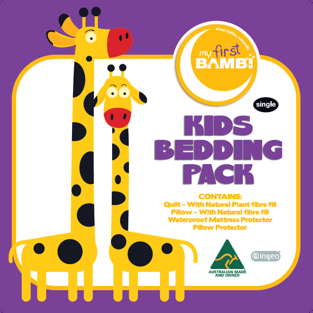 Bambi Ingeo Kids Bedding Pack