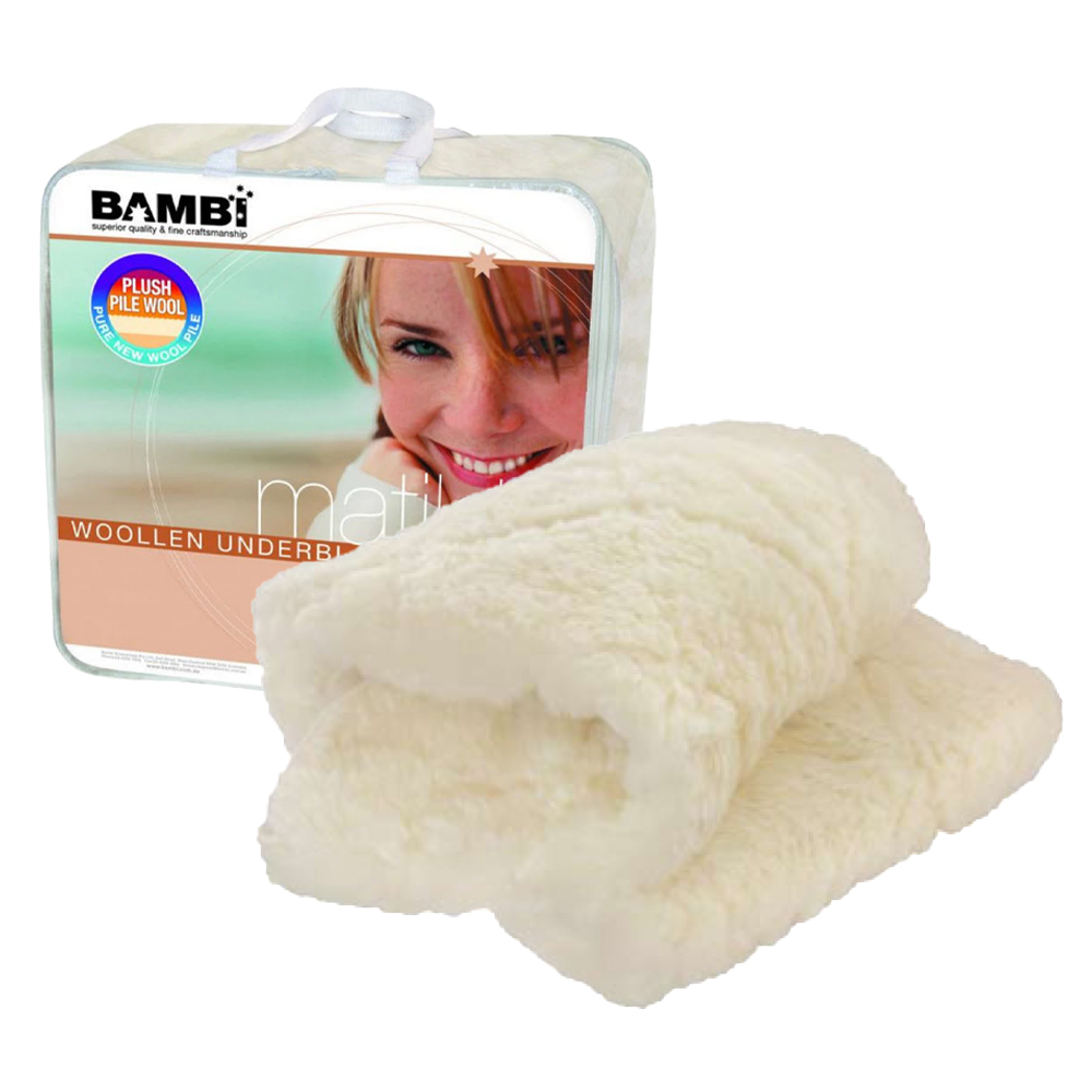 Bambi Matilda Single Layer Wool Underlay
