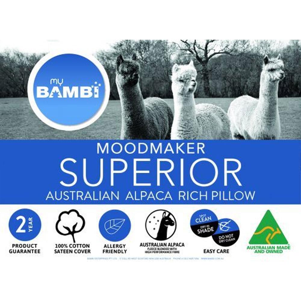 Bambi Moodmaker Superior Australian Alpaca Rich Pillow