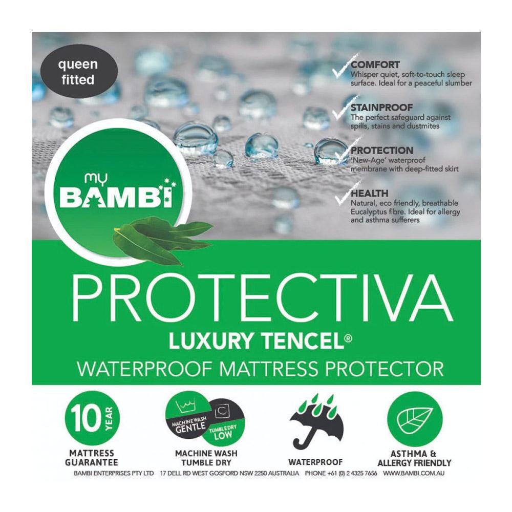 Bambi Protectiva Luxury Waterproof Tencel Mattress Protector