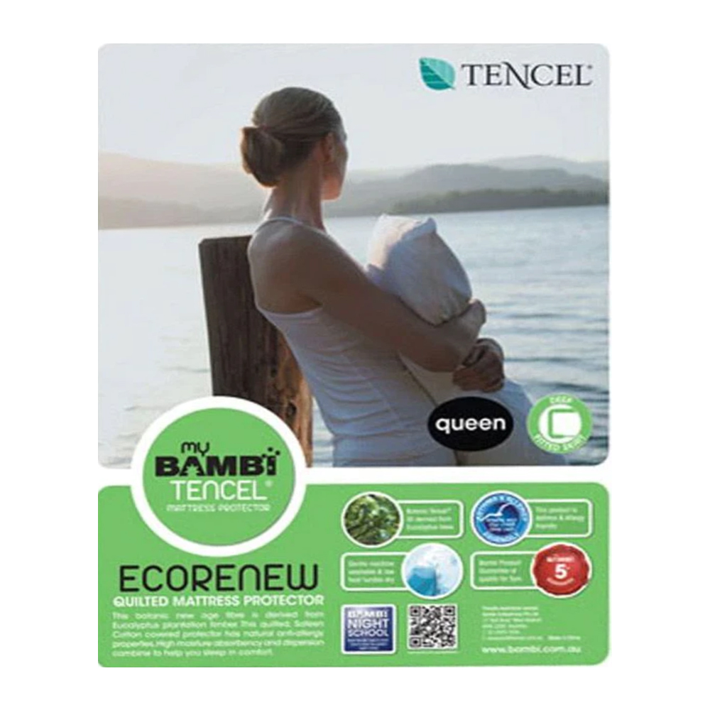 Bambi Quilted Tencel Mattress Protector