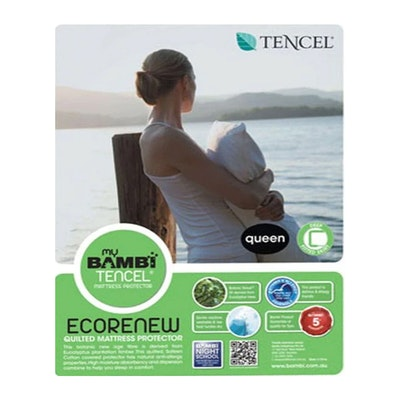 Bambi Quilted Tencel Mattress Protector Packaging