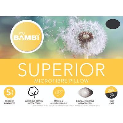 Bambi Superior Microfibre Pillow