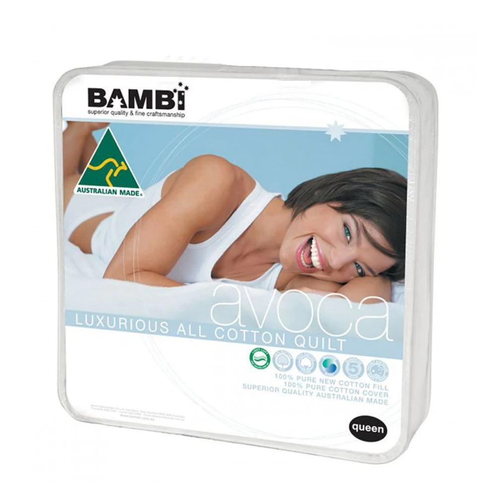 Bambi Avoca Cotton Lightweight Summer Quilt 200gsm
