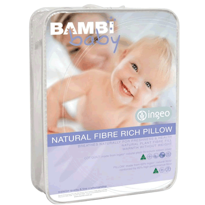 Bambi Baby Ingeo Plant Fibre Baby Pillow