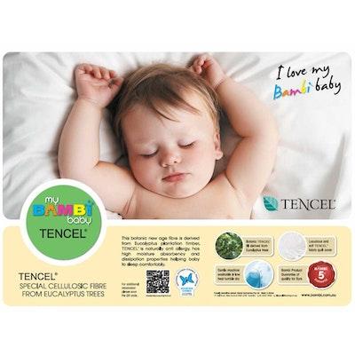 Bambi Tencel Blend Toddler Cot Pillow