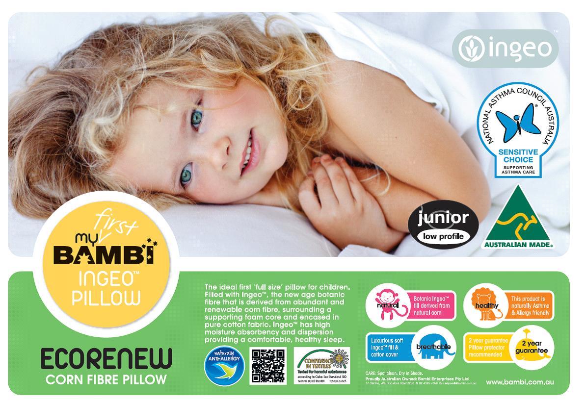 Bambi Ingeo Plant Fibre Junior Pillow