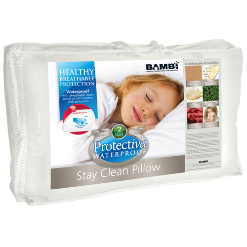 Bambi Protectiva Waterproof Stay Clean Kids Pillow