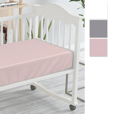 Bambi Tencel Baby Bassinet Fitted Sheet Swatch