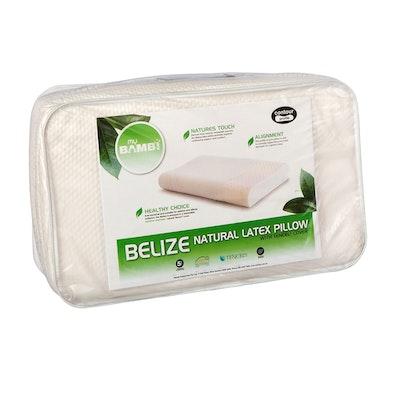 Bambi Belize Contoured Natural Latex Pillow Pacakging