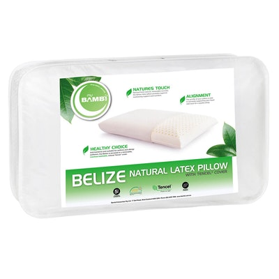 Bambi Belize Standard Profile Natural Latex Pillow