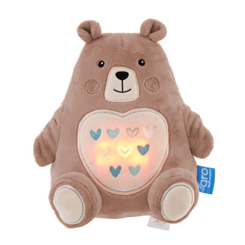 The Gro Company Bennie the Bear Sound Machine and Night Light