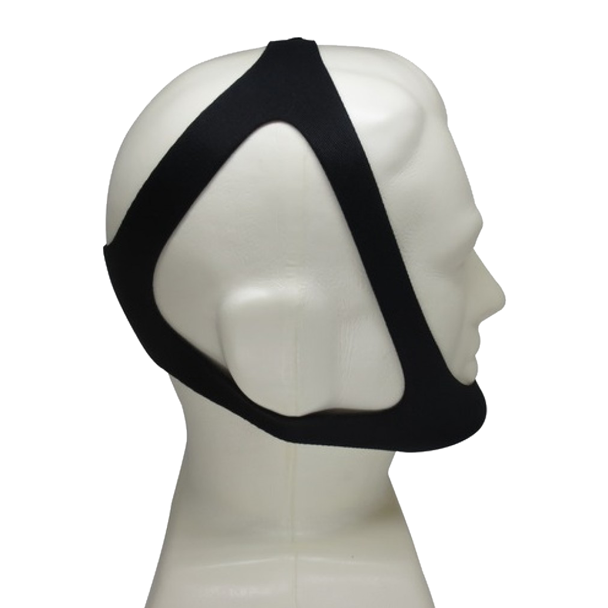 Lightweight Black Anti Snoring Chin Strap