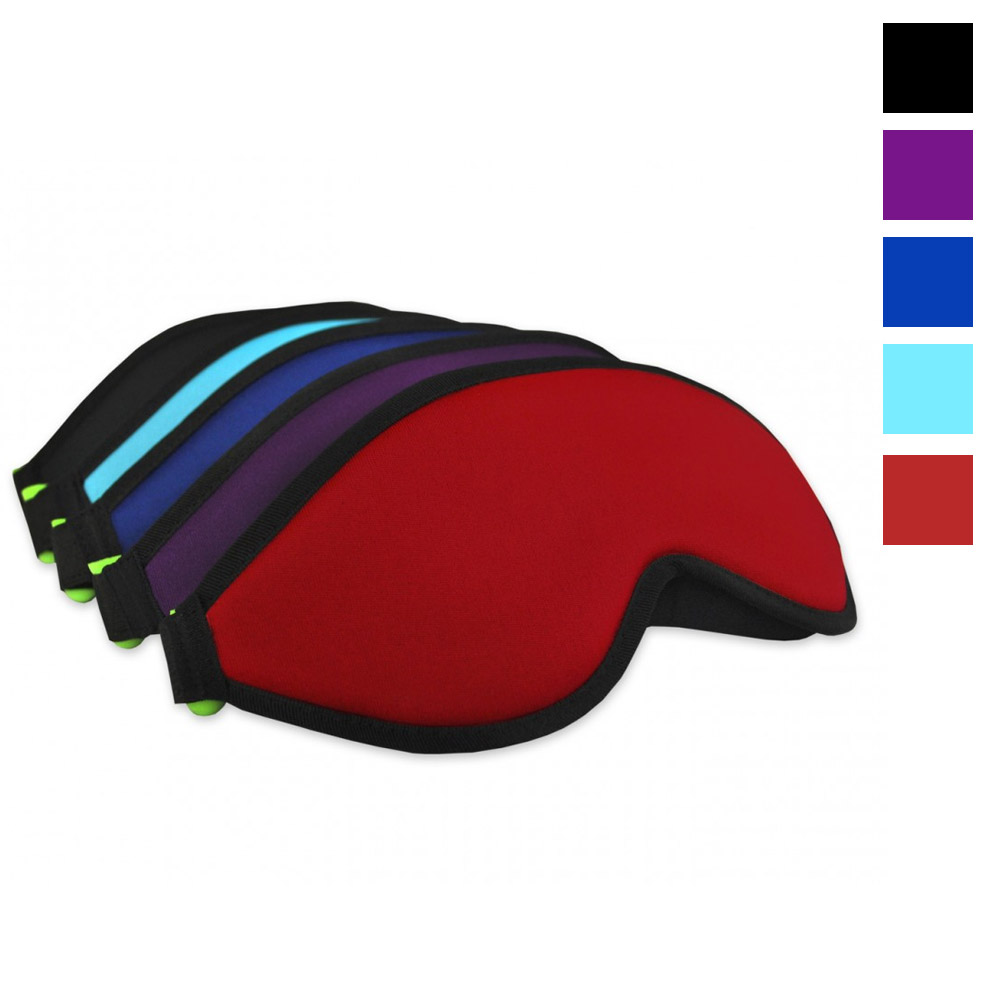Bucky Blockout Eye Shades Sleep Mask with Earplugs