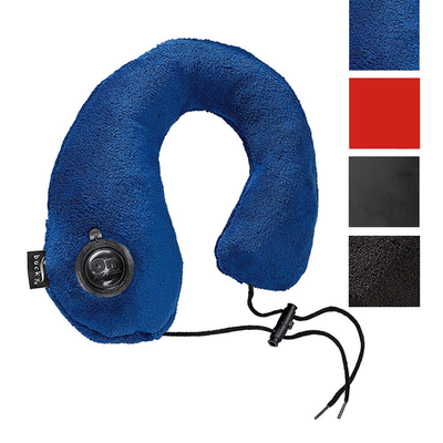 Bucky Gusto Inflatable Neck Travel Pillow With on air technology swatches