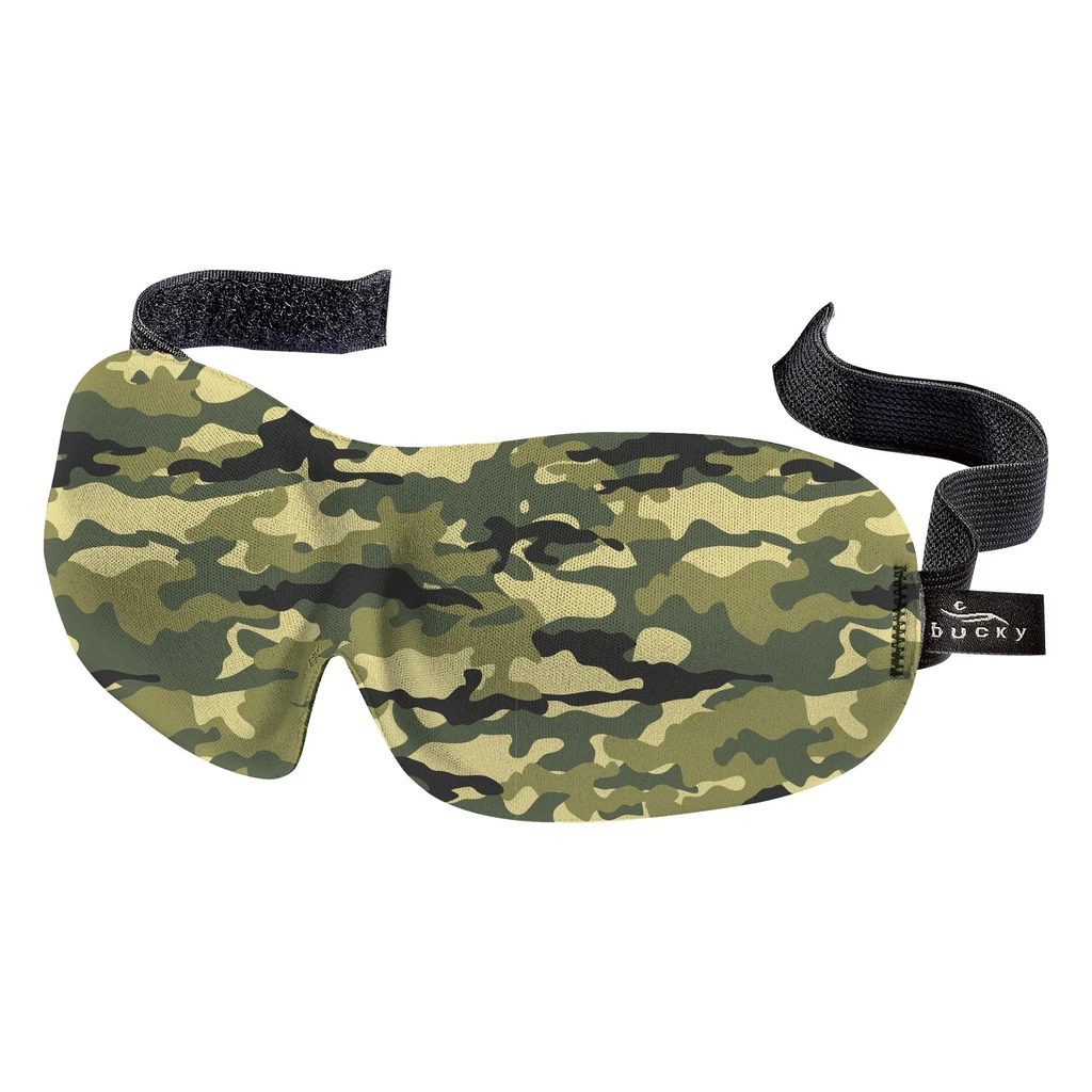 Bucky 40 Blinks Camo Sleep Mask