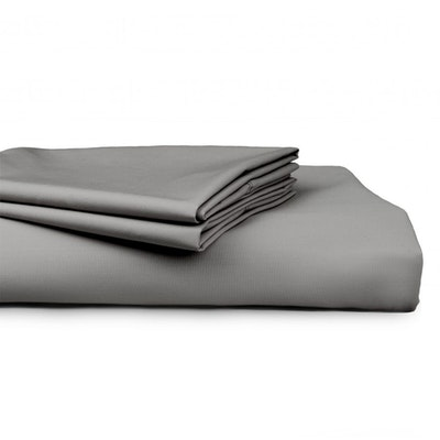 Algodon 300 Thread Count Percale Cotton Combo Sheet Set grey