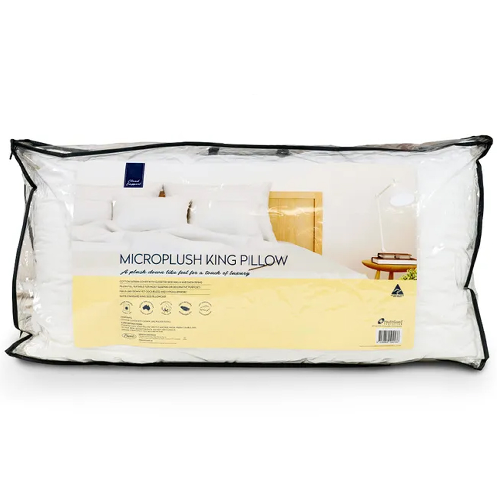 Easyrest Cloud Support Microplush King Size Pillow