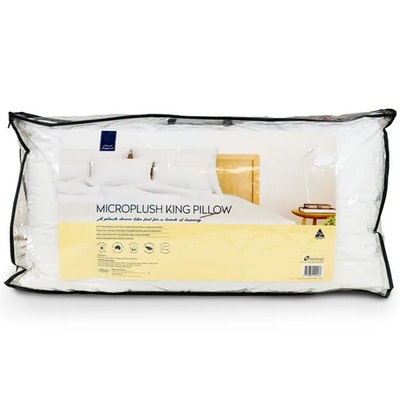 Easyrest Cloud Support Microplush King Size Pillow Packaging