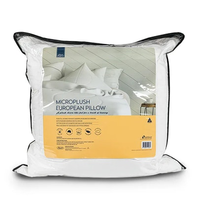 Easyrest Cloud Support Microplush European Size Pillow Packaging