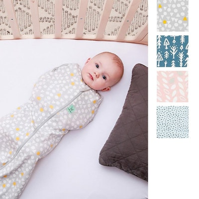 ErgoPouch Cocoon Swaddle and Sleep Bag 0.2 Tog Swatches