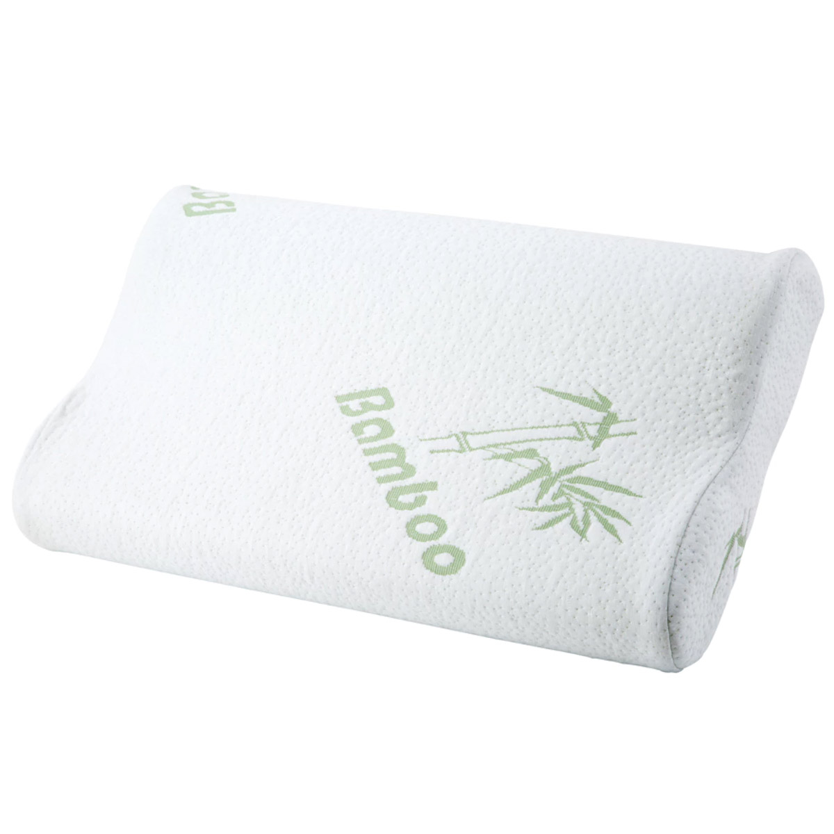 Contoured Memory Foam Pillow with Bamboo Cover
