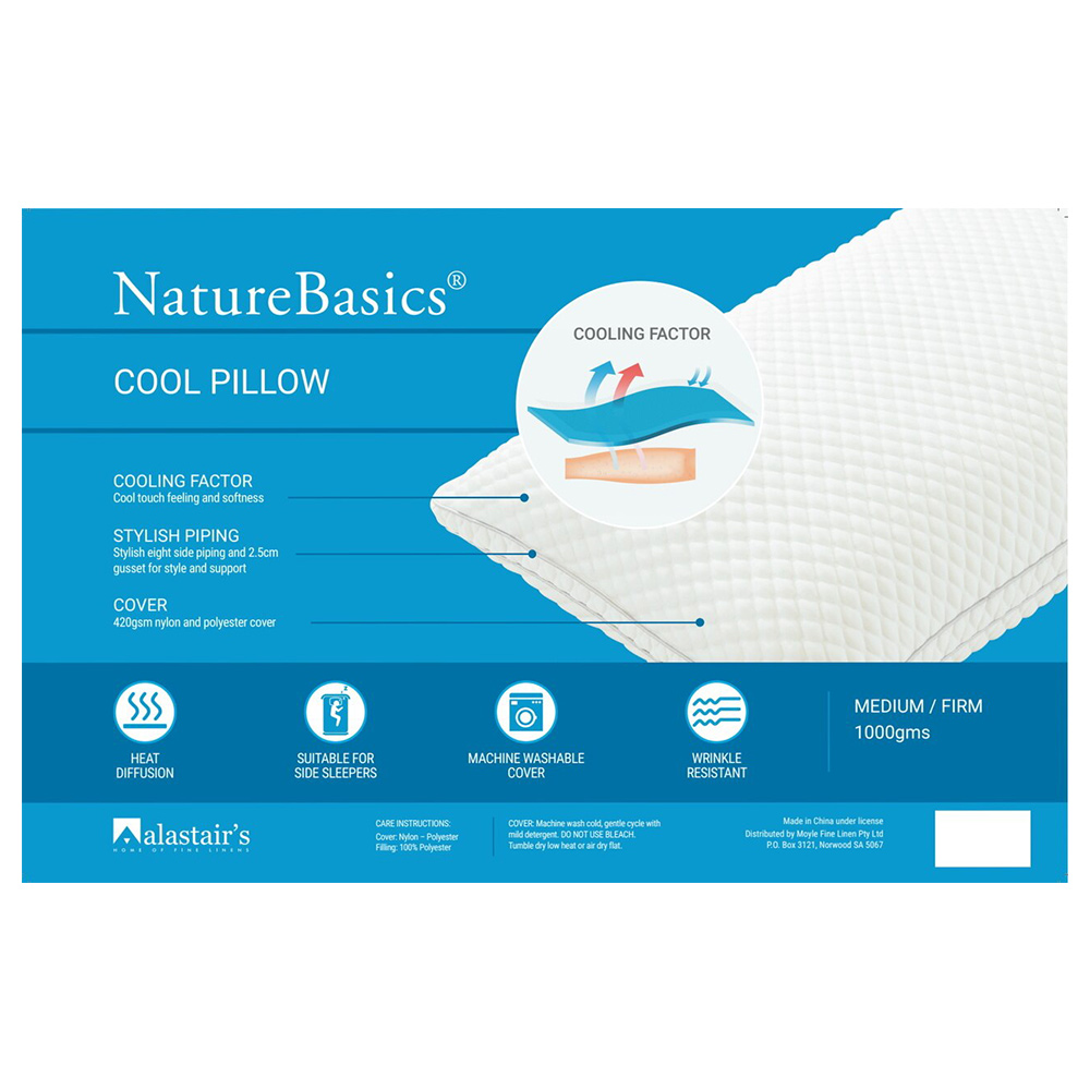 Alastairs NatureBasics Cool Pillow