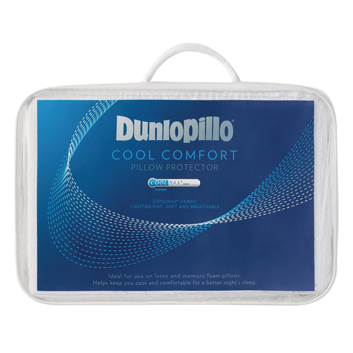 Dunlopillo Coolmax Cool Comfort Pillow Protector