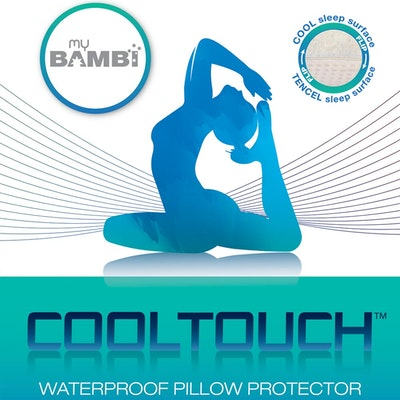 Bambi Cooltouch Active Cooling Waterproof Pillow Protector