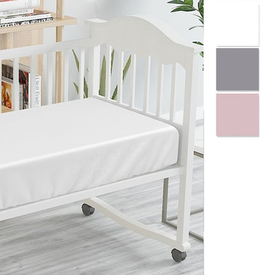 Bambi Tencel Baby Cot Fitted Sheet Swatch
