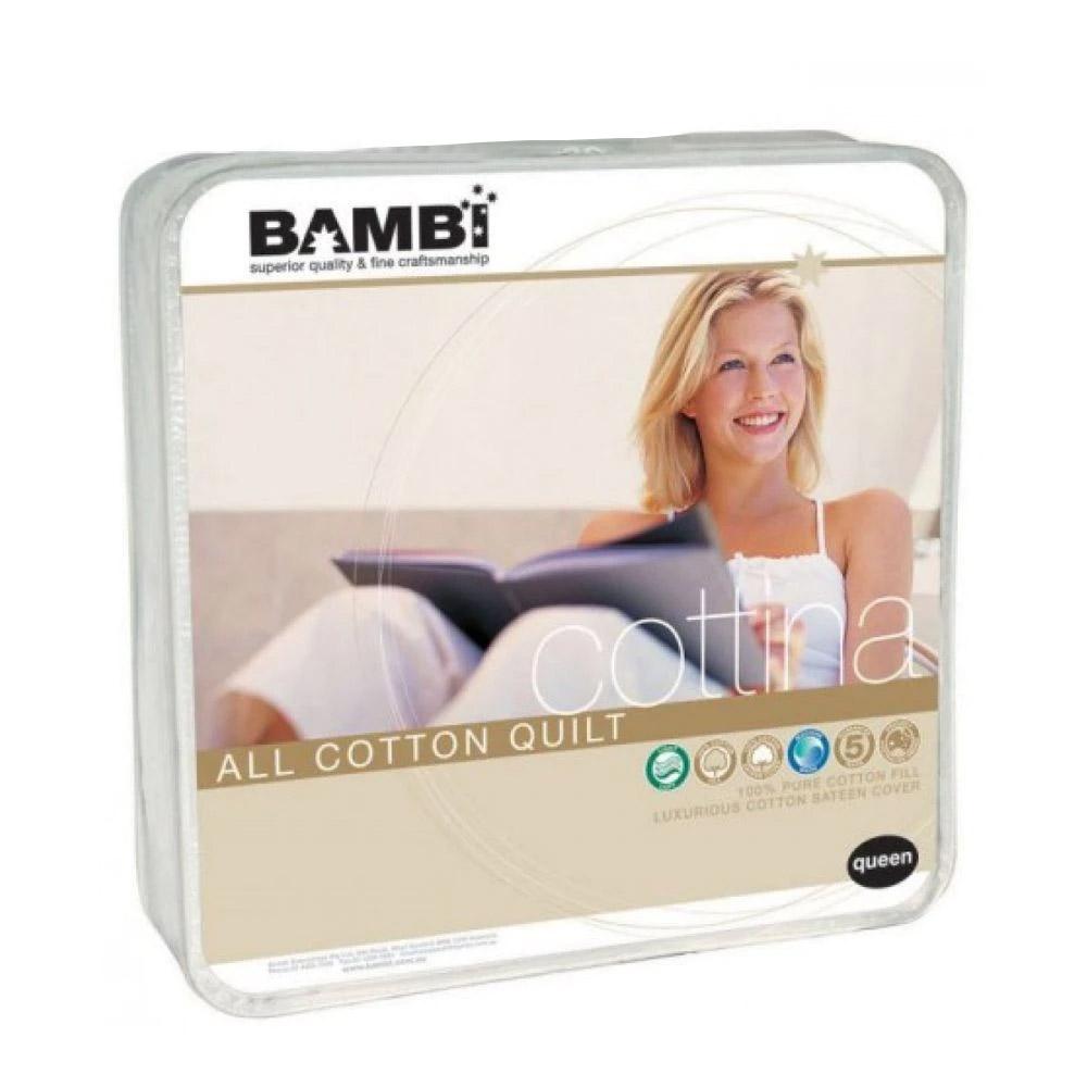 Bambi Cottina All Cotton Quilt 300gsm