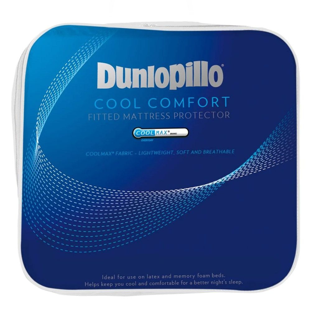 Dunlopillo Coolmax Cool Comfort Mattress Protector | Temperature ...