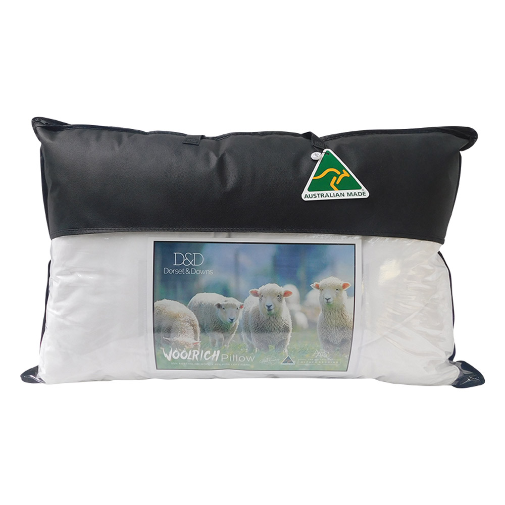 Dorset & Downs Wool Rich Pillow